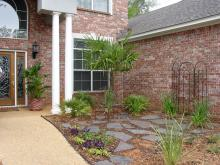 Another excellent and economical use of rocks is to create outdoor rooms using flagstones.