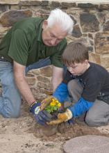 Father's Day is an ideal time to gift the gardening enthusiast with tools to make practicing his hobby even better. (Photo by MSU Ag Communications/Kat Lawrence)to by MSU Extension Service/Gary Bachman)