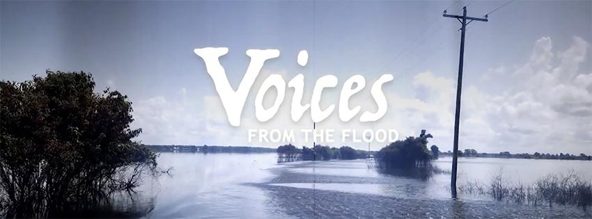 Voices from the Flood header