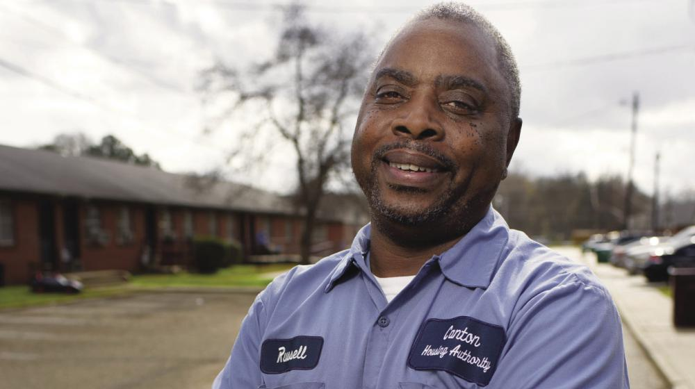 Russell Carroll, a housing authority official, shares his story about Extension training.