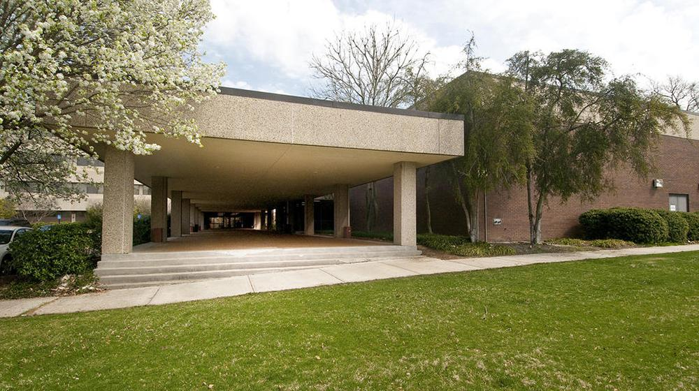 Bost Conference Center entrance