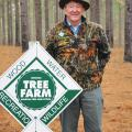 Through the years, Julian Watson has helped other Mississippi tree farmers through his participation in Mississippi State University Extension forestry programs. (Photo courtesy of Mississippi Farm County magazine/Glynda Phillips)