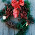 Get into the holiday spirit by heading to the outdoors and collecting things for an old-fashioned wreath. Harvest sprigs of greenery from an eastern red cedar or leyland cypress. Look for tallow tree seed clusters, magnolia leaves with fruit pods, pine cones, and holly and nandina berries.