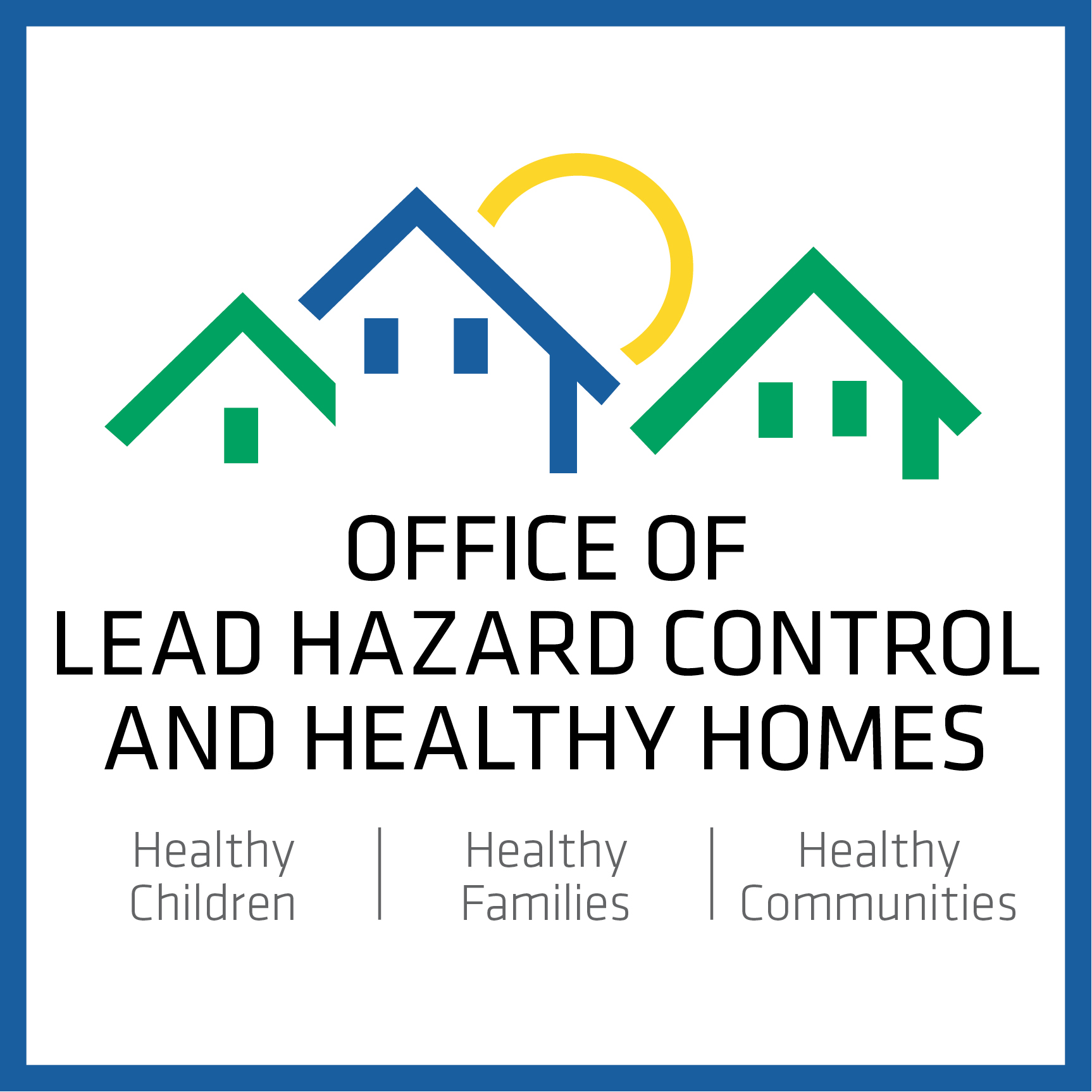 Office of Lead Hazard Control and Healthy Homes logo
