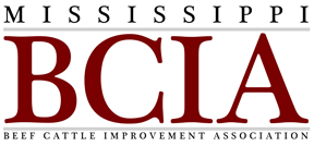 Mississippi Beef Cattle Improvement Association logo.