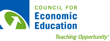 Council for Economic Education, Teaching Opportunity logo.