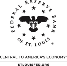 Federal Reserve Bank of Saint Louis, Central to America's Economy logo.
