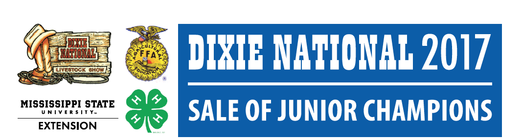 The Dixie National 2017 Sale of Junior Champions logo