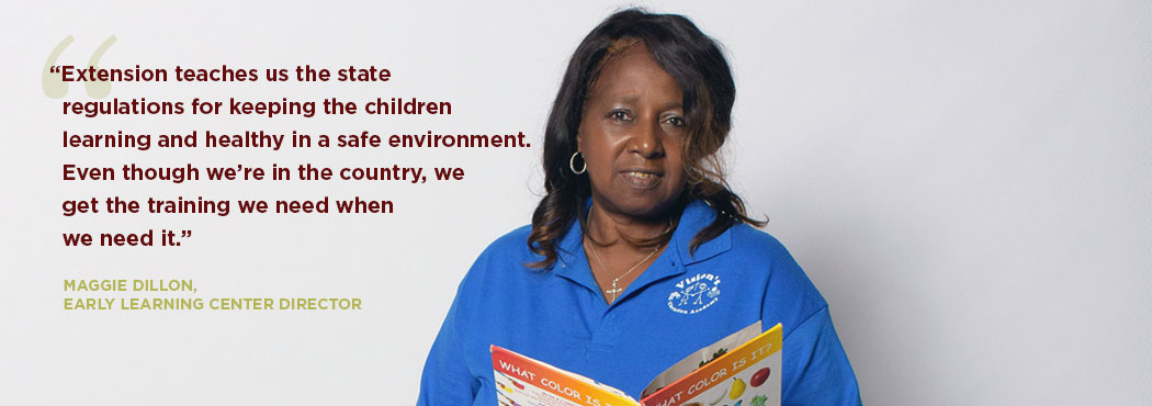 A farmer explains how Extension helped him with his irrigation practice