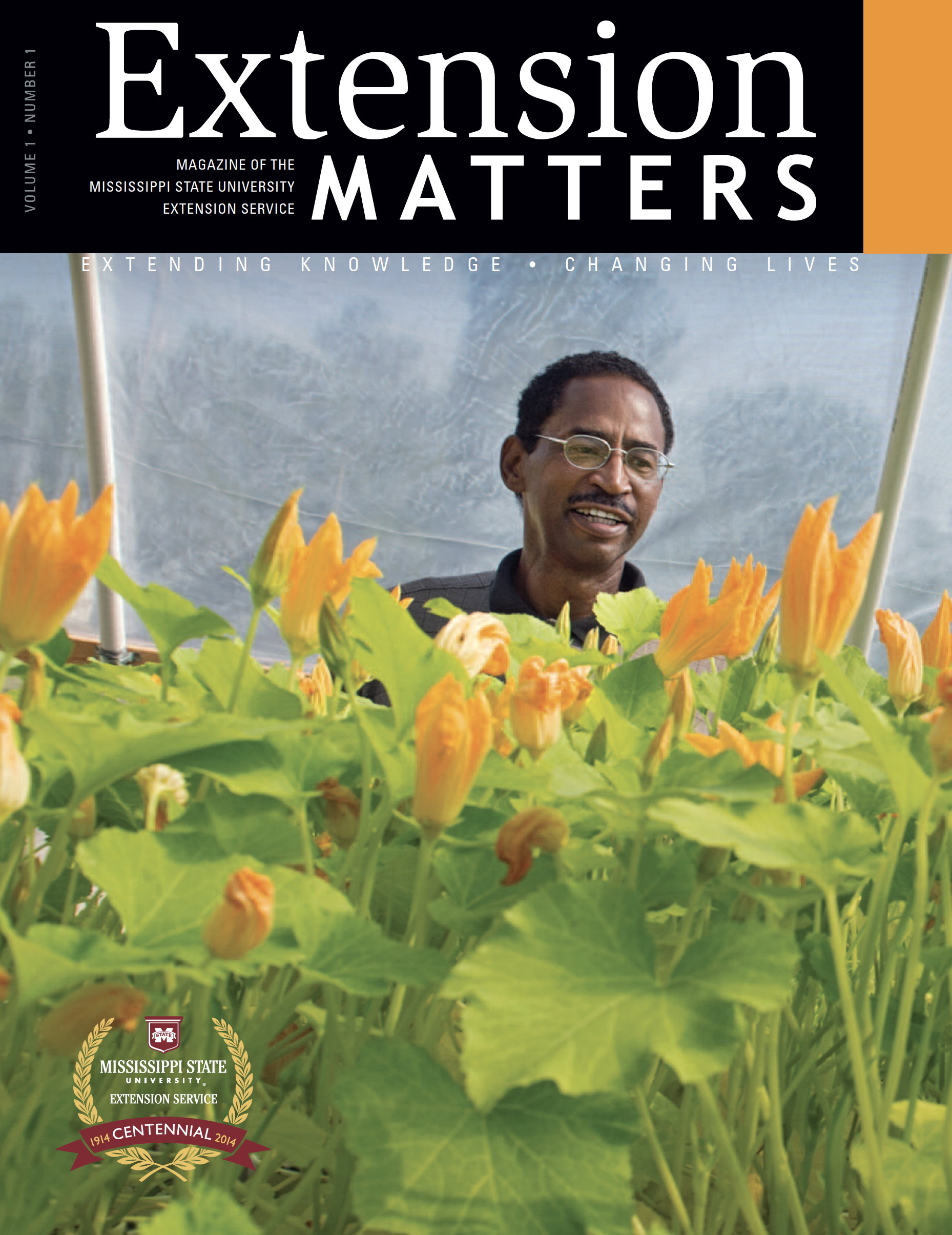 Extension Matters Volume 1 Number 1.