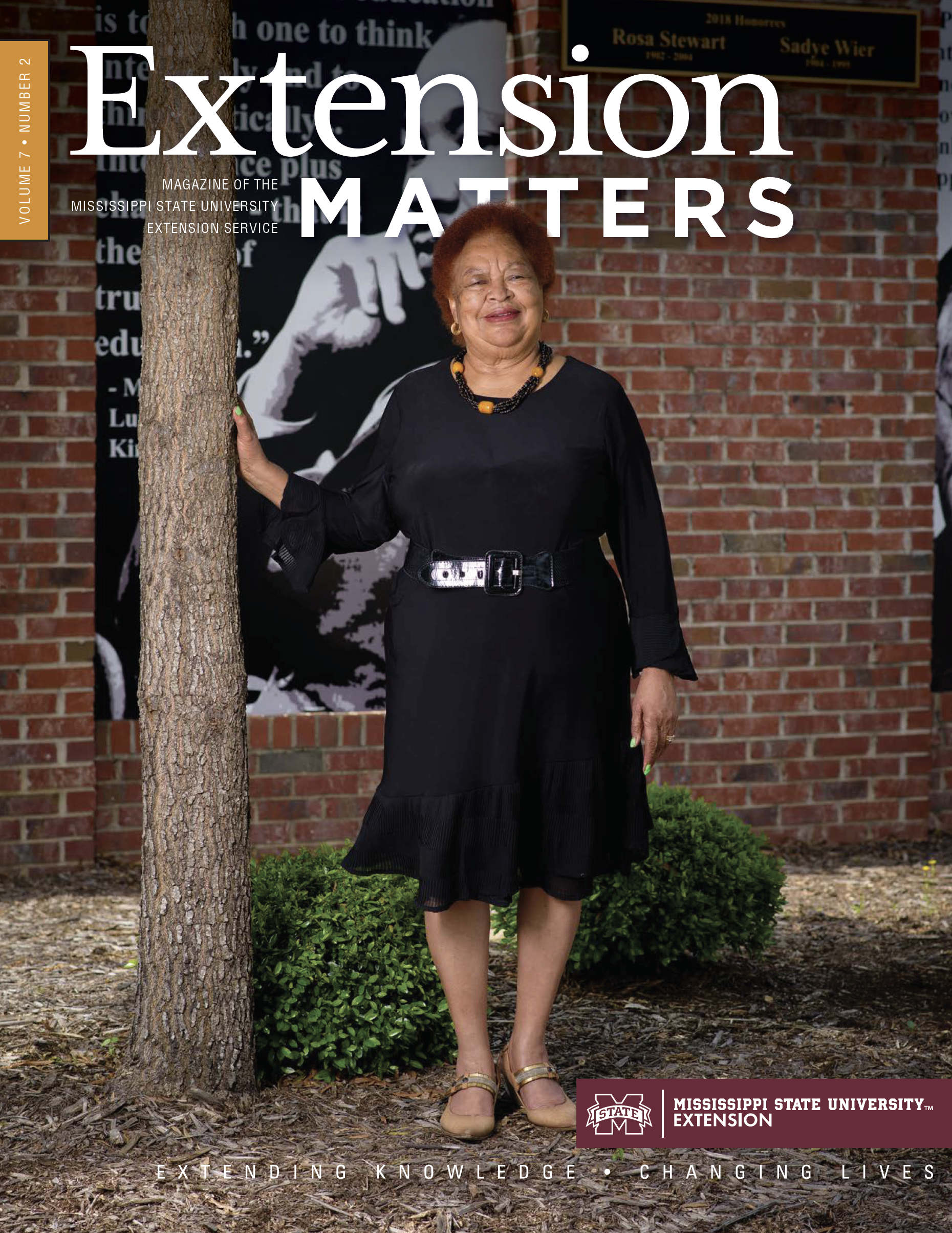 Extension Matters cover volume 7 number 2.