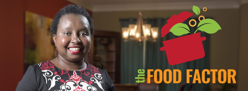 Food Factor host, Natasha Hayne.