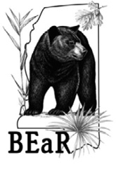 Bear Education ad Restoration Group of Mississippi Logo.