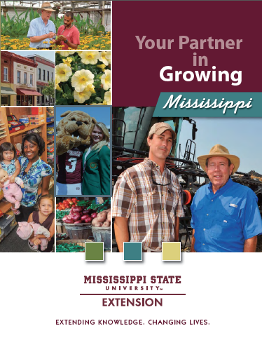 The cover of the MSU Extension publication, Your Partner in Growing Mississippi.