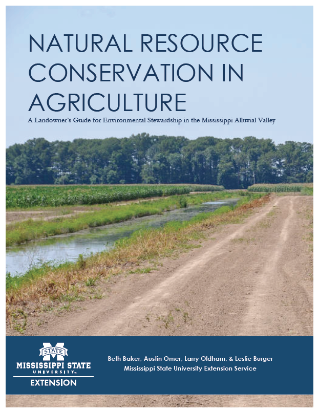 The cover of the Natural Resource Conservation in Agriculture publication 3050