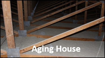 Aging house.