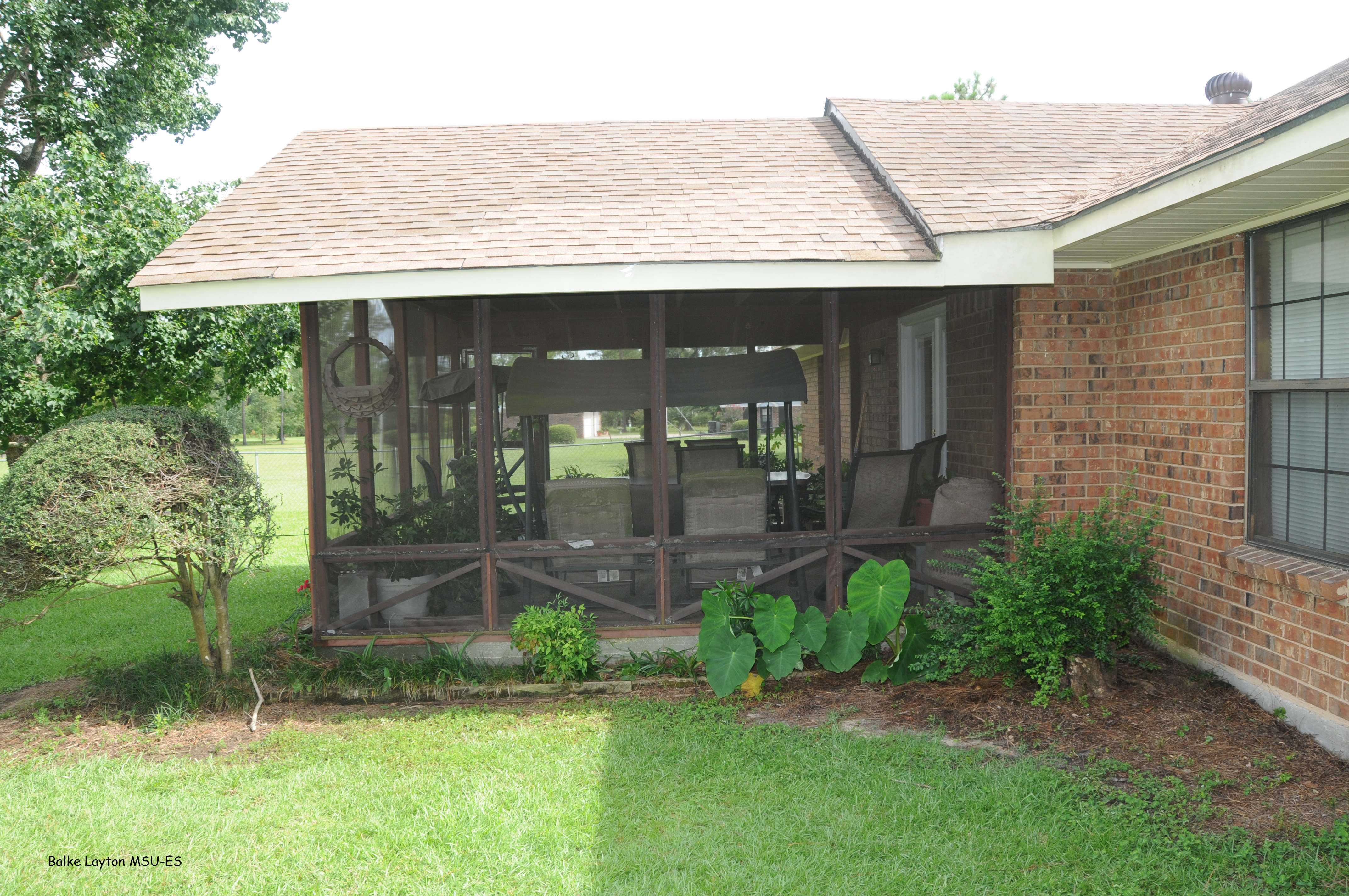 Adding a room, such as this screened-in porch, and not having it properly pretreated is a common cause of termite infestations.