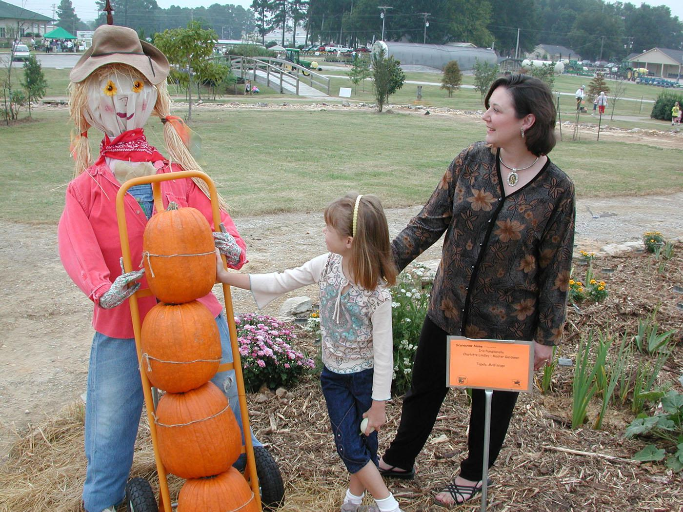 North Mississippi boasts a bumper crop of scarecrows.