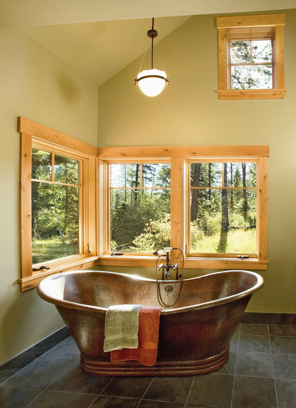 Forest certification indicates that forests have passed certain evaluations to ensure the more sustainable production of consumptive and non-consumptive forest products. Jeld-Wen, manufacturer of windows and doors, offers certification for their many products, including the ones pictured here. (Photo courtesy of Jeld-Wen)