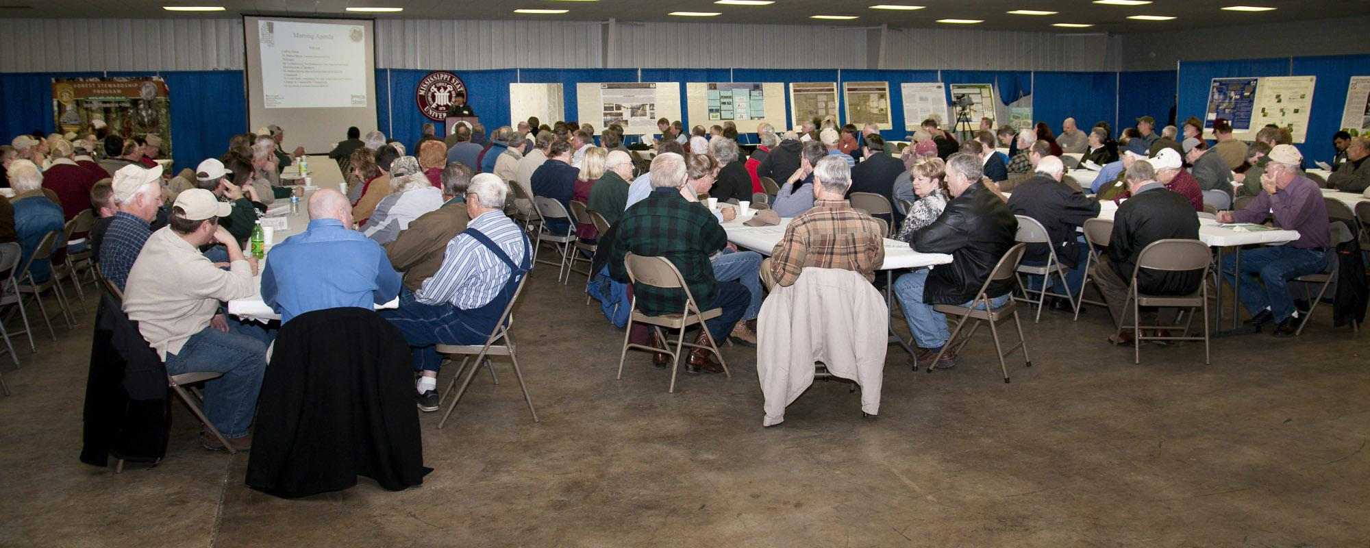 This year's attendance at the North Mississippi Producer Advisory Council was the largest in recent history, with more than 300 attendees. (Photo by Scott Corey)