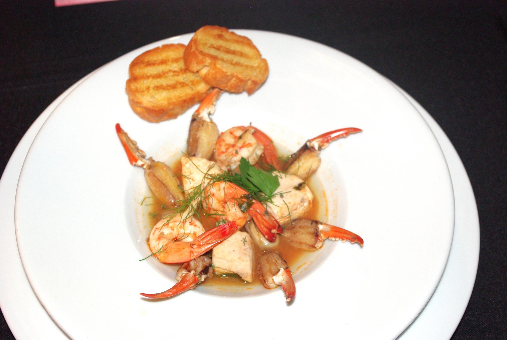 Members of the St. Martin High School 4-H Club won second place in the 2012 Great American Seafood Cook Off Aug. 12 in New Orleans with their Gulf Coast Bouillabaisse recipe, featuring Gulf Coast shrimp, blue crab, oysters, Wahoo fish and Mississippi-grown tomatoes. (Submitted Photo)