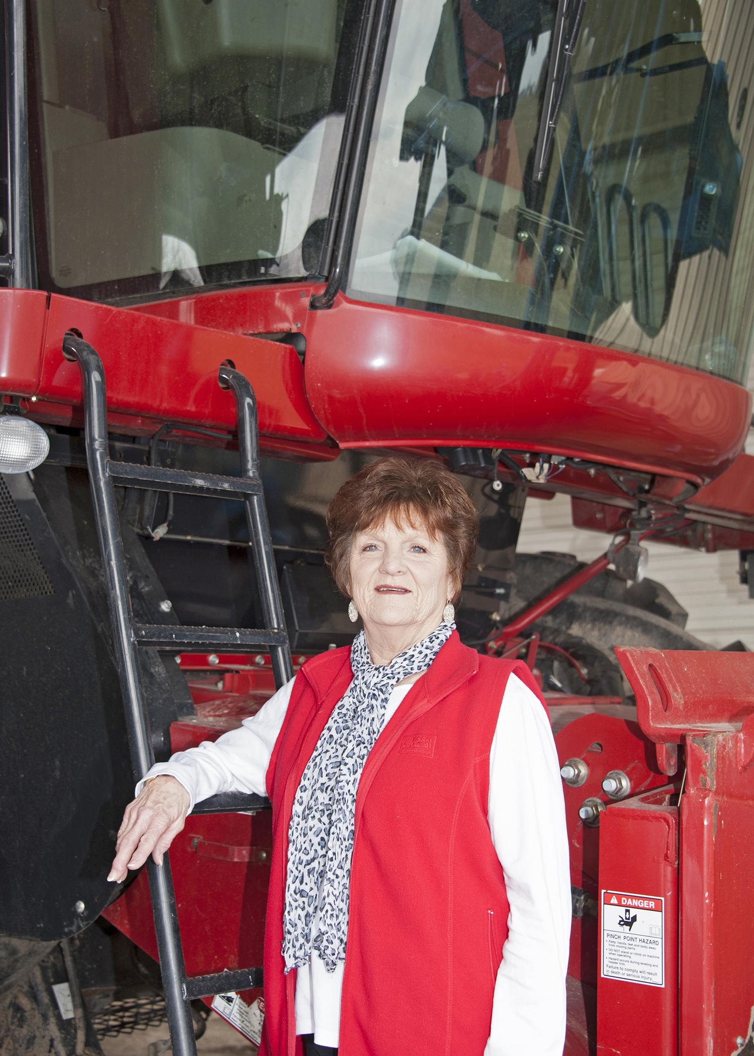 Wanda Hill, a Humphreys County farmer, helps promote agriculture throughout Mississippi because she feels farming is rewarding. (Photo by MSU Ag Communications/Kat Lawrence)