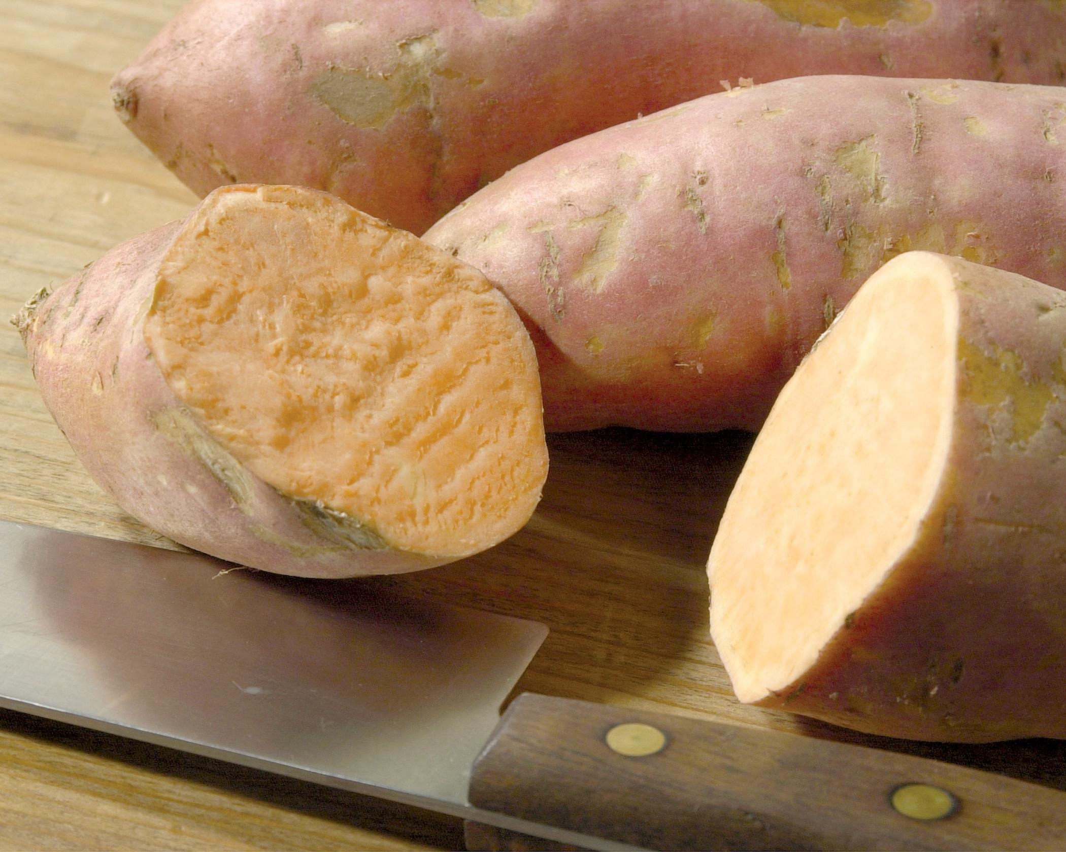 Sweet potatoes are loaded with vitamins A and C, beta-carotene and fiber, which make them a healthy addition to soups, stews, main dishes and desserts. (Photo by MSU Ag Communications/File Photo)