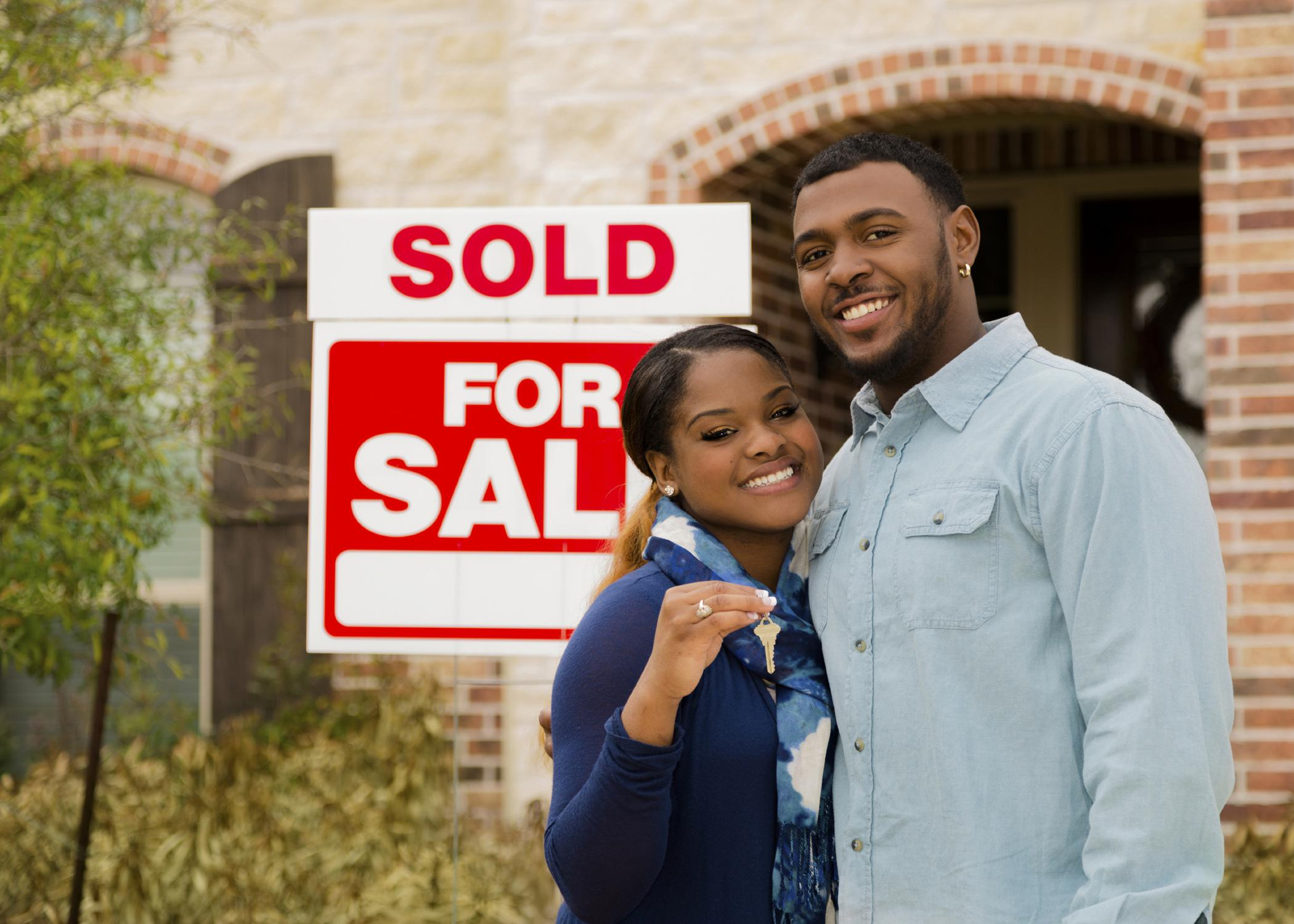 Newlywed couples who want to buy their first home should educate themselves on the process and have a written financial plan to follow. (Photo by iStock)
