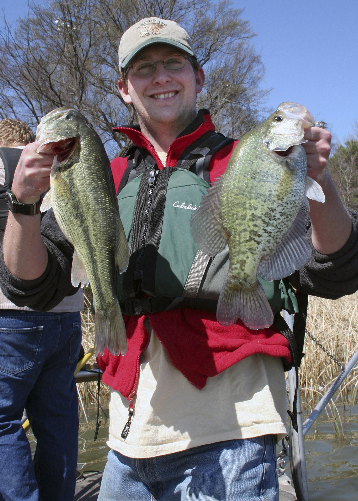 Managing small ponds for large, healthy crappie, such as these pictured, requires careful management and a willingness to give up the expectation of also harvesting large, healthy bass from the same pond. (Submitted photo)