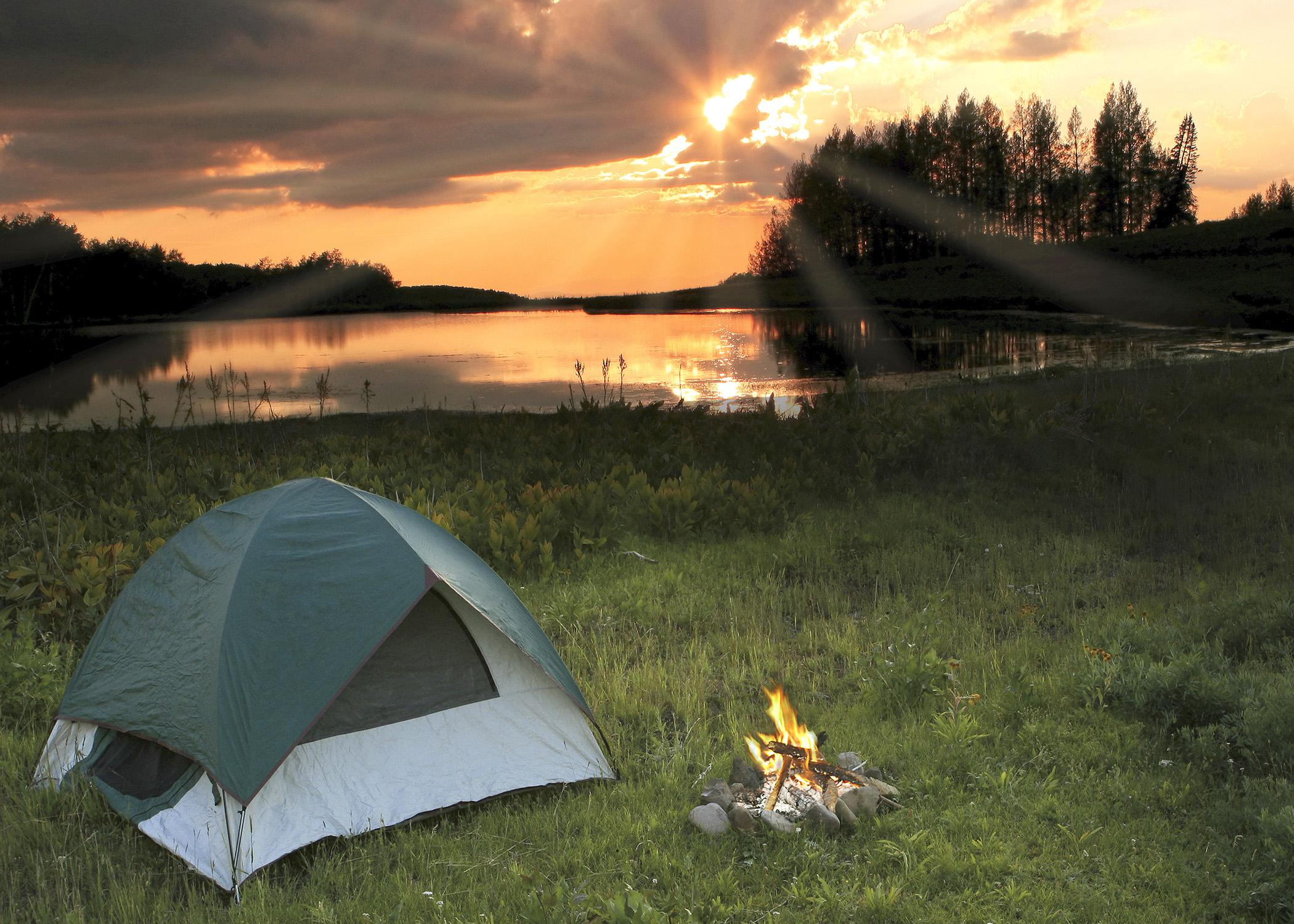 The right gear and a little preparation can make a fall camping trip fun and enjoyable. (Photo by iStock)