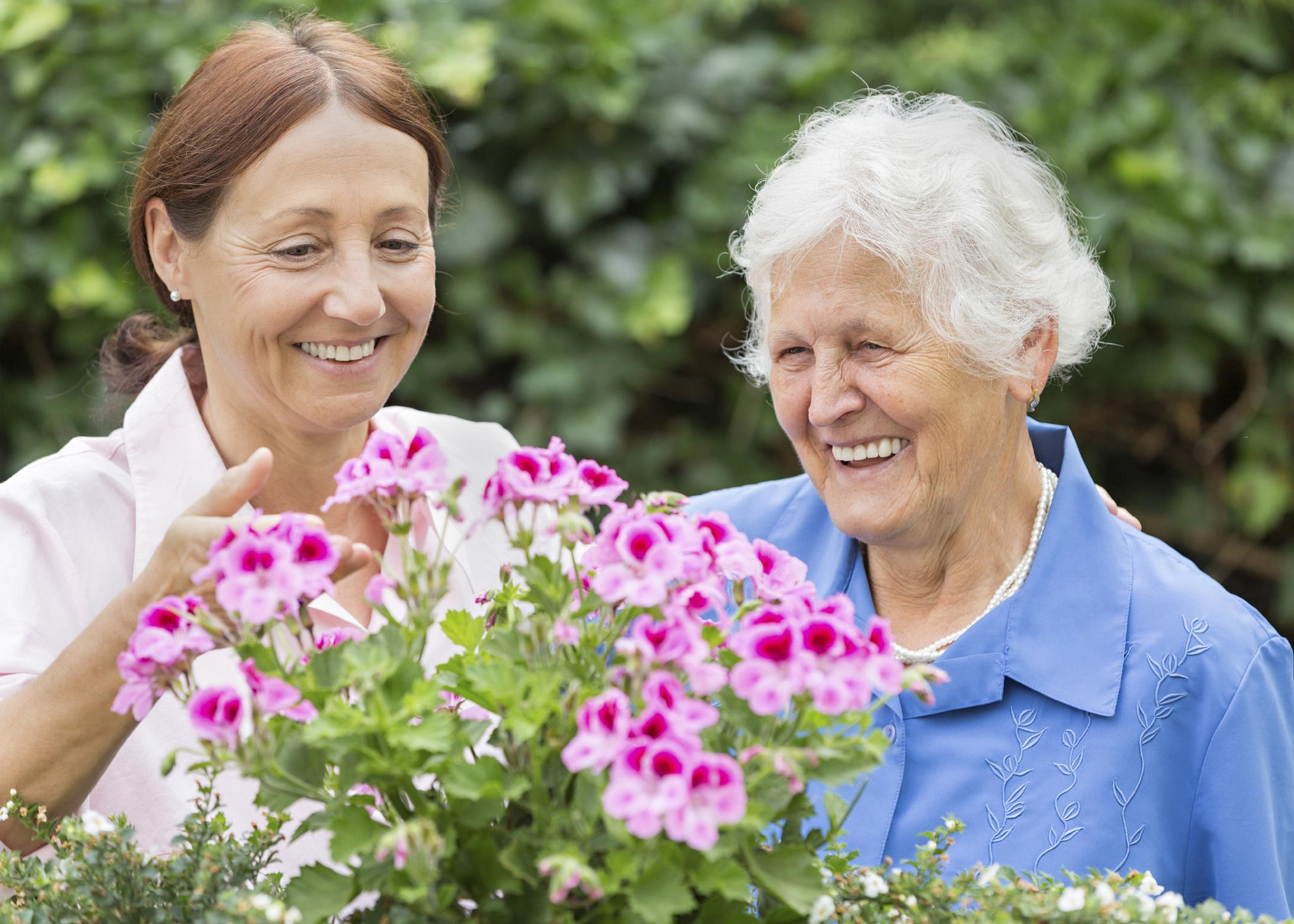 Milder forms of depression in older Americans responds to creative activities such as knitting or gardening as well as by getting more involved in the community through volunteering. (Photo by iStock)