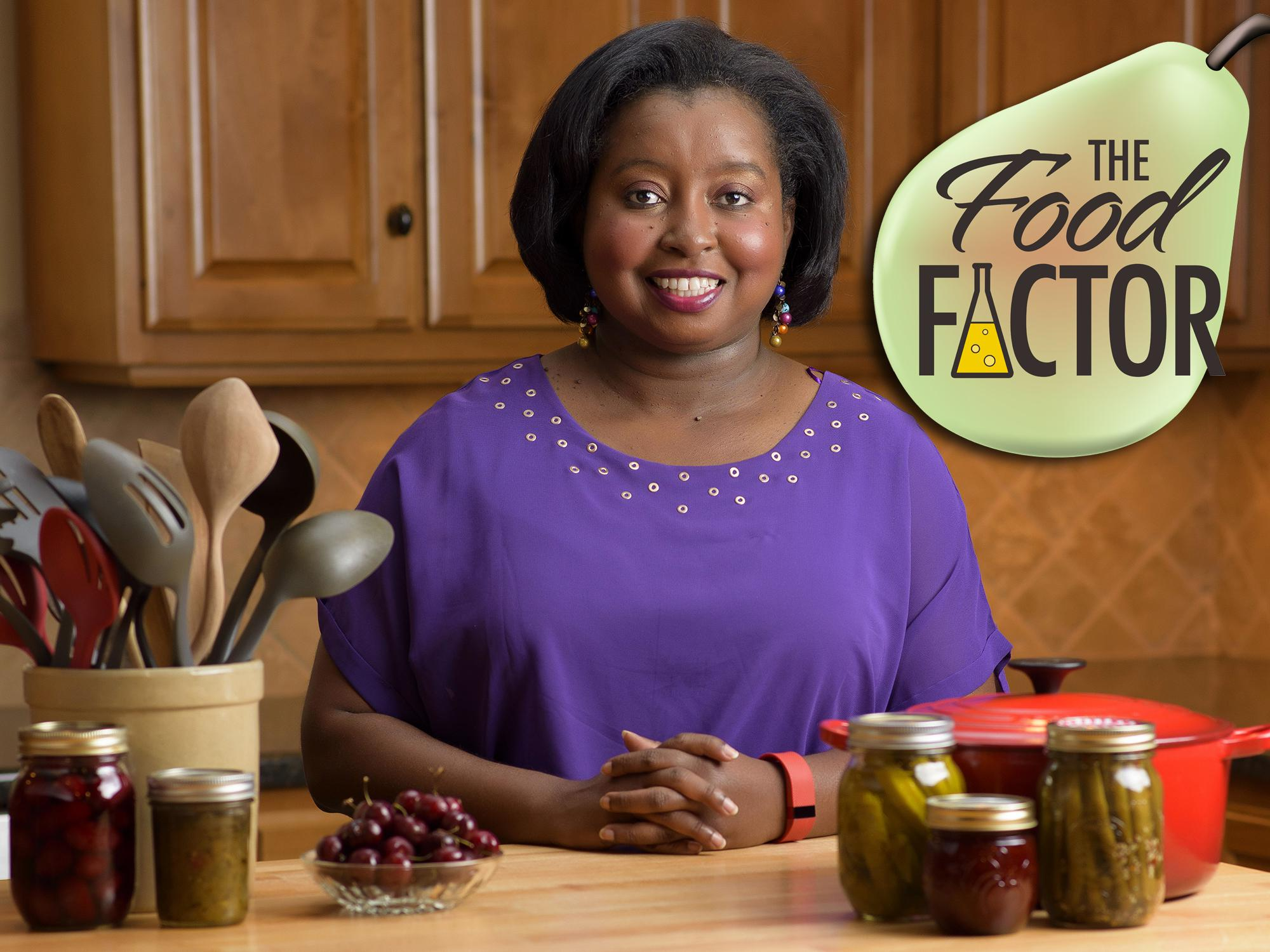"Natasha Haynes, Mississippi State University Extension Service agent in Rankin County, hosts the weekly video news feature series, ""The Food Factor."" (Photo Illustration by MSU Extension Service/Kevin Hudson)"