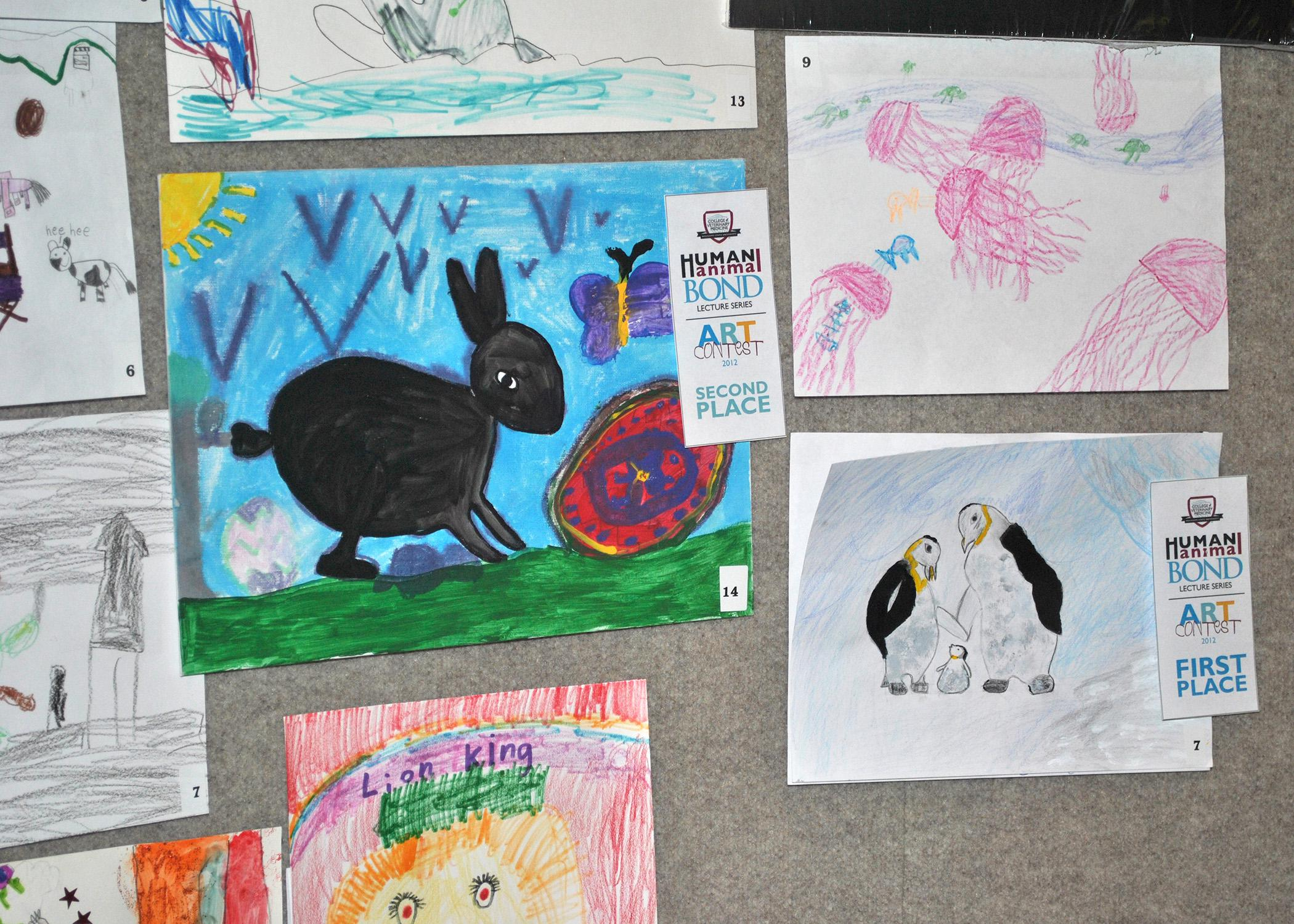 "The annual Nestle Purina Human-Animal Bond week at Mississippi State University's College of Veterinary Medicine includes an art contest open to students in first through fifth grades. Children should submit an original print, drawing or painting by Oct. 11 that depicts the theme ""Arctic Adventure."" (Submitted Photo)"
