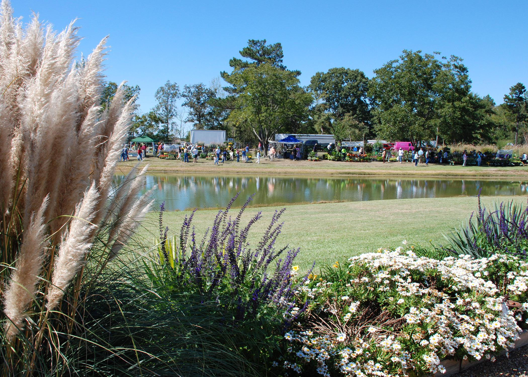 This 3-acre garden site at MSU's Truck Crops Branch Experiment Station in Crystal Springs will host the Fall Flower and Garden Fest Oct. 5 and 6. A complementary event is the Ornamental Horticulture Field Oct. 4 at the South Mississippi Branch Station in Poplarville. (Photo by MSU Ag Communications)