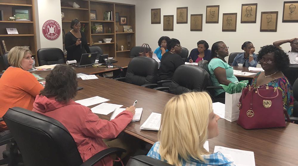 volunteers in a workshop during the North Forum Volunteer Leaders Conference.
