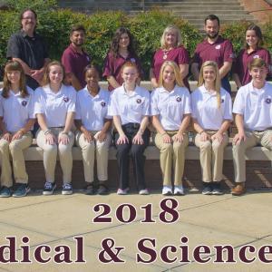2018 RMS scholars.
