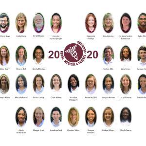 2019 RMS scholars.