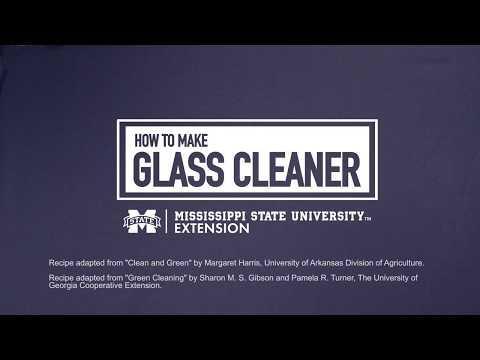 No-Streak Glass Cleaner