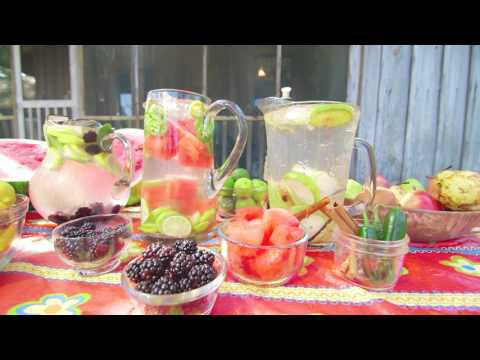 Flavored Water Recipes August 6, 2017