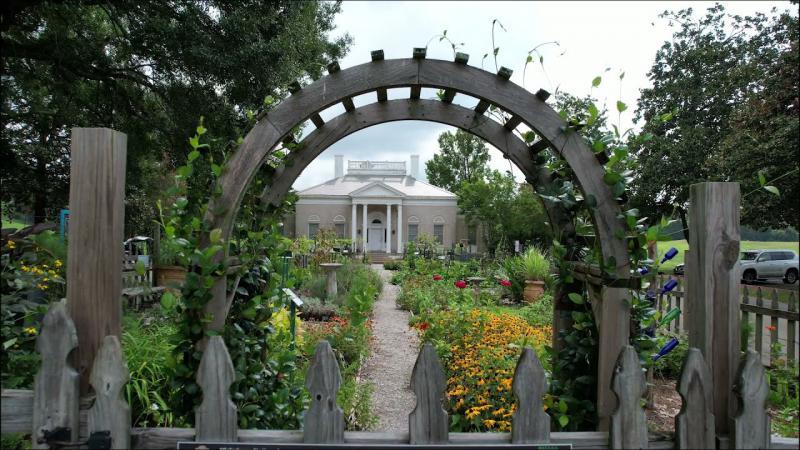 Vicksburg Military Park Heritage Garden