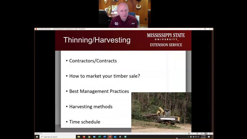 Forest Management Considerations
