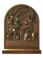 The Borlaug Medallion was awarded to the Association of Public and Land-grant Universities during a celebration of the 150th anniversary of the Morrill Act, held in Washington, D.C. (Submitted Photo)