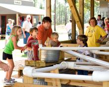Agritourism operations bring families to the farm to learn about agriculture and play together. Activities range from pumpkin patches and hay rides to rubber duck races, such as this one, at the Bluejack Ridge Kids Ranch near Poplarville, Miss. (Submitted Photo)