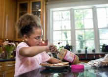 Kids can prepare easy, nutritious after-school snacks with little or no cooking when parents plan ahead. (Photo by Lifesize)