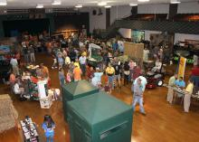 More than 400 people attended the Lowndes County Hunters Extravaganza, organized by the Mississippi State University Extension Service. (Photo by MSU Ag Communications/Keri Collins Lewis)