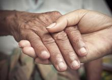 Communication with other family members can help caregivers balance the task with family obligations, work and self care. (Photo by iStock)