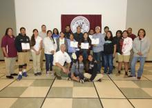 The Choctaw Agriculture Professionals Program for Students, or CAPPS, is the culmination of a relationship Mississippi State University Extension Service agent Jim McAdory has been working to foster between the tribe and MSU for several years. (Photo by Kevin Hudson/MSU Extension Service)