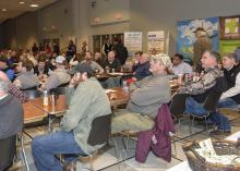 A record number of agriculture professionals attended the Dec. 1-3 Row Crop Short Course offered in Starkville by the Mississippi State University Extension Service. (Photo by MSU Ag Communications/Kevin Hudson)