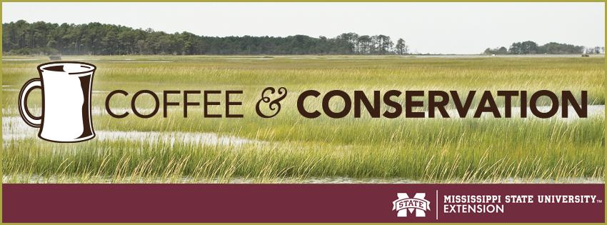 flooded grain field with Coffee & Conservation logo.
