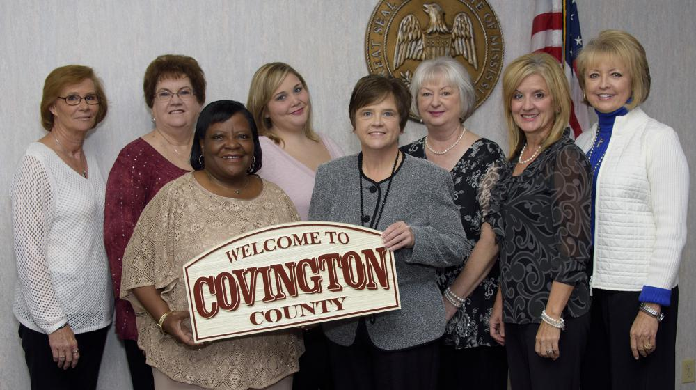 Members of the Covington County Tax Accessors office